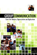Group Communication: Cases for Analysis, Appreciation and Application, edited by Laura Black. Includes a chapter copy-edited by John Elder.